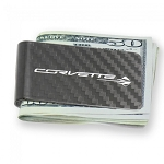 C7 Corvette 2014-2019 Stingray Carbon Fiber Money Clip