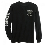 Since 1953 Corvette Long Sleeve Tee - Black