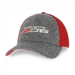 C7 Corvette Z06 2015-2019 New Era Fitted Cap - Scarlet Red / Shadow Heather