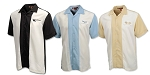 C3 C4 C5 C6 Corvette 1968-2013 Two-Tone Bahama Camp Shirt - Multiple Logo Options