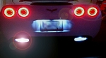 C6 Corvette 2005-2013 Gen 2 Reverse LED Bulbs - UltraBright LED Technology