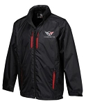 C5 C6 Corvette 1997-2013 Stormtech Deflector Jacket - Crossed Flags or Grand Sport Emblem Selection