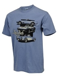 C3 Corvette 1968-1982 Tri Vettes Chill Mens T-Shirt