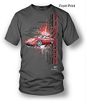 C4 Corvette 1984-1996 Burst Shirt