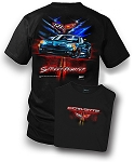 C6 Corvette 2005-2013 Street Fighter T-Shirt