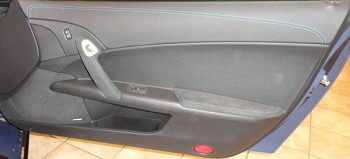C6 Corvette 2005-2013 2012-Style Suede-Wrapped Door Armrests