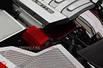C7 Corvette Stingray/Z06/Grand Sport 2014+ Custom Painted Alternator Cover - Perforated or Solid Polished