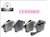 C4 Corvette 1984-1996 Ceramix Brake Pads - Front & Rear