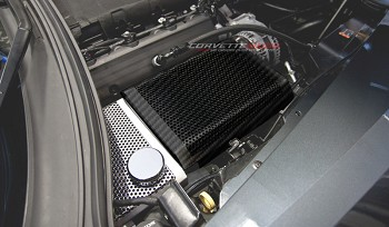 C7 Corvette Stingray/Z06/Grand Sport 2014+ Hydro Carbon Fiber Perforated Fuse Box Cover