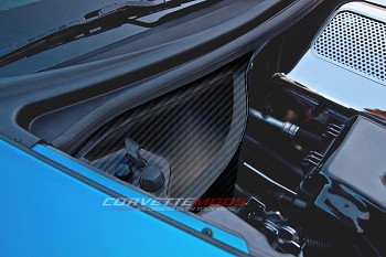 C6 Corvette Z06/Grand Sport 2006-2013 Hydro Carbon Fiber Dry Sump Oil Tank Cover