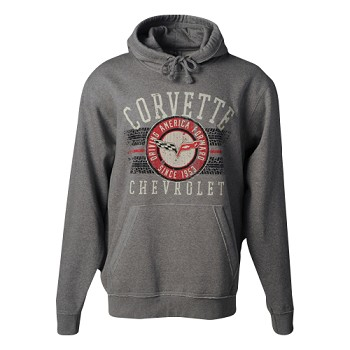 C6 Corvette 2005-2013 Fleece Hoodie Jacket