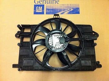 C7 Corvette Stingray 2014+ Radiator Cooling Fan w/ Motor And Shroud