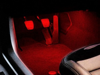C7 Corvette Stingray 2014-2019 LED Footwell Lighting - Pair