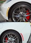 C7 Corvette Stingray/Z06/Grand Sport 2014+ LED Side Markers - 4Pc