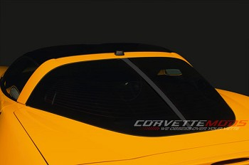 C5 C6 Corvette 1997-2013 Hydro Carbon Fiber Split Window Roof Retro Kit