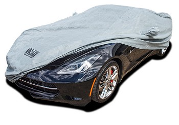 C7 Corvette Stingray/Z06/Grand Sport 2014-2019 The Wall Outdoor Car Cover w/ Cable & Lock - Coupe/Convertible