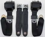 C3 Corvette 1968-1974 3 Point Seat Belt Conversion Kit