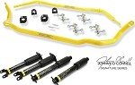 C5 C6 Corvette 1997-2013 Johnny O'Connell Stage 2 Sway Bar / Shocks Package