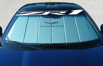 C6 Corvette 2005-2013 Windshield Decal - ZR1 Supercharged Logo