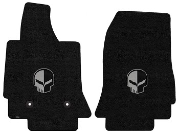 C7 Corvette 2014-2019 Stingray/Z06/Grand Sport Lloyd Ultimat Jake Skull Floor Mats