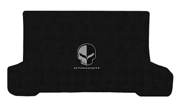 C7 Corvette Stingray/Z06/Grand Sport 2014-2019 Lloyd Ultimat Jake Skull/Stingray Script Cargo Mats