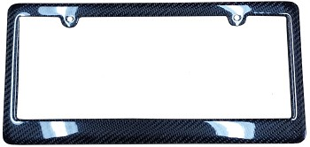 Carbon Fiber License Plate Frame