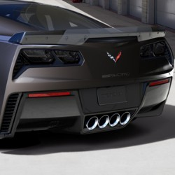 C7 Corvette Stingray 2014-2019 Custom Painted Z06 Style GM Spoiler