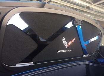 C7 Corvette Stingray/Z06 2014-2019 Trunk Deck Lid Liner Embroidered