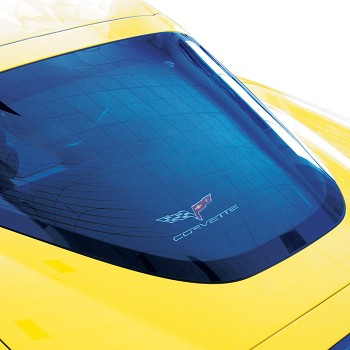 C6 Corvette 2005-2013 Embroidered Cargo Shade