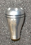 C6 Corvette 2005-2013 Aluminum Stick Shift Knob - Design 2