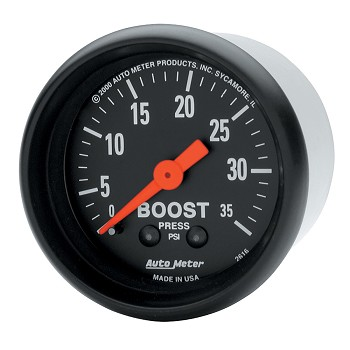 Autometer 2-1/16 inch Boost Gauge 0-35 PSI