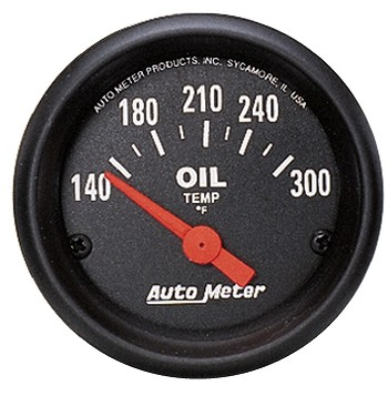Autometer 2-1/16 inch Oil Temperature Gauge 140-300F