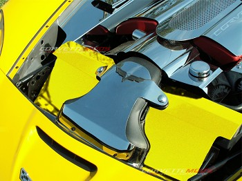 C6 Corvette 2005-2013 Radiator Cover - Custom Painted