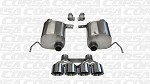 C7 Corvette Stingray 2014+ Corsa Xtreme Axle-Back Exhaust System