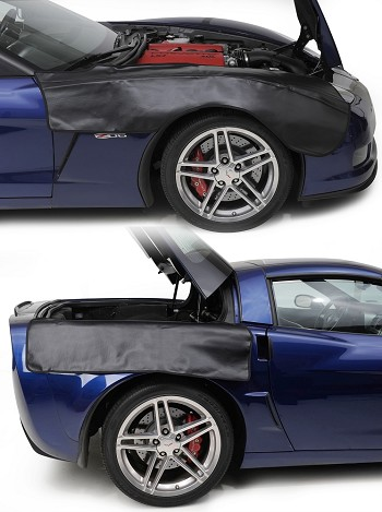 C6 Corvette 2005-2013 Front & Back Fender Cover Set - 4 Pieces