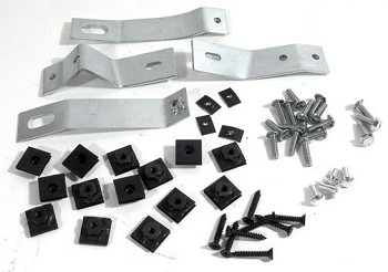C2 Corvette 1965-1967 Side Exhaust Covers Mounting Kit