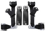 C3 Corvette 1974-1977 OE Style Seat Belts / Dual Retractors -  Pair