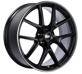 C8 Next Gen 2020+ Corvette BBS ET52 Satin Black Rim Protector Wheel