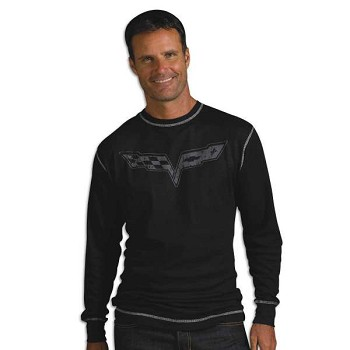 C6 Corvette 2005-2013 Vintage Thermal T-Shirt