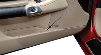 C6 Corvette 2005-2013 Door Panel Kick Guard