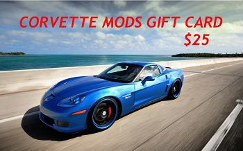 $25 Corvette Mods Gift Card - PURCHASE WITH REWARDS POINTS