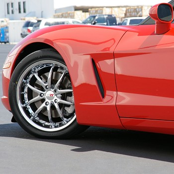 C5 C6 Corvette 1997-2013 SR1 Performance Wheels APEX 18x8.5/19x10 FULL SET (4)