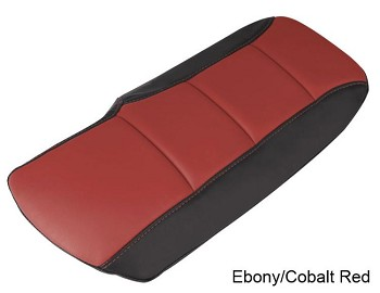 C6 Corvette 2005-2013 Two-Tone Leather Console Cushions