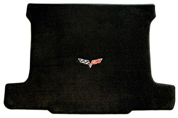C6 Corvette 2005-2013 Lloyd Velourtex Cargo Mat w/ Single Logo