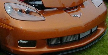 C6 Corvette 2005-2013 RaceMesh 4 Chamber Front Lower Grille: ZR1