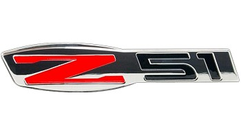 C6 Corvette 2005-2013 Billet Chrome Z51 Badge