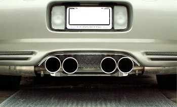 C5 Corvette 1997-2004 Perforated Exhaust Filler Panel