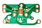 C3 Corvette 1977-1982 Center Gauge Circuit Board