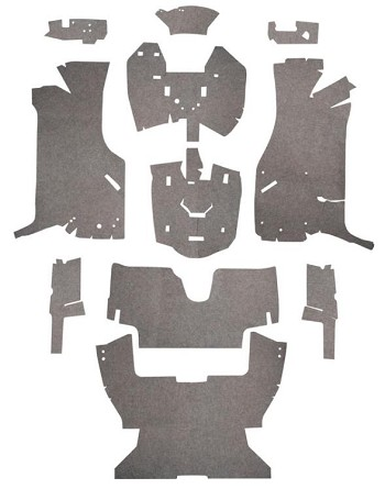C4 Corvette 1984-1996 Sound Deadener Advanced Foil Kit