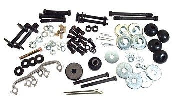 C3 Corvette 1969-1977 Rear Suspension Mounting Hardware Kits